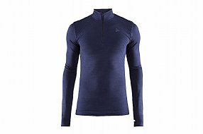 Craft Mens Fuseknit Comfort Zip Baselayer