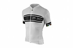 De Soto Mens Skincooler Full Zip Tri Top Sleeved