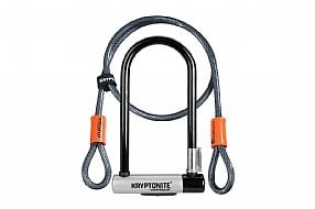 Kryptonite Kryptolok Standard U-Lock with Flex Cable