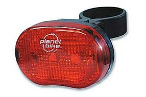 Planet Bike Blinky3 3-LED Tail Light with Flasher