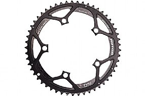 Rotor NoQ Round Chainrings - 130 BCD Outer Non-Aero