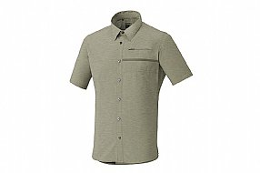 Shimano Mens Transit SS Button Down Shirt 2018