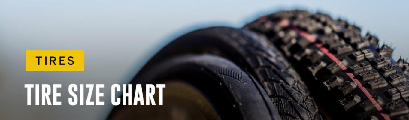 Tire Size Chart Header