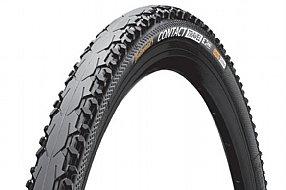 """26/"""" Bike Clincher Tyre Michelin Protek Cross Wire 26X1.6/"""" Black//Reflective"""