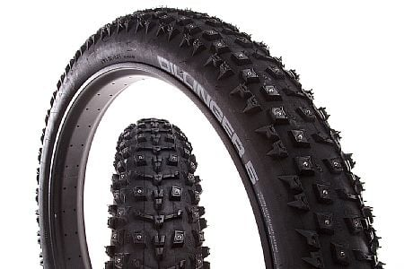 "45Nrth Dillinger 5 Studded 120 TPI 26"" Fat Bike Tire"