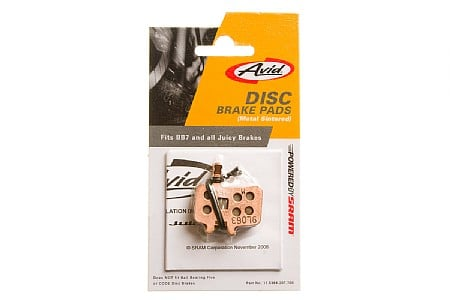 Avid BB7/Juicy Disc Brake Pads