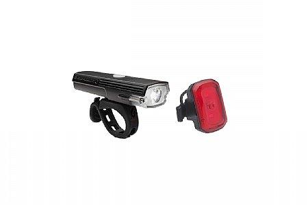 Blackburn Dayblazer 400 Front / Click USB Rear Light Set