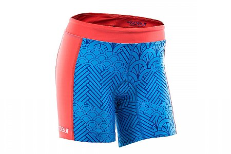 "Coeur Sports Womens Serenity 5"" Tri Shorts"