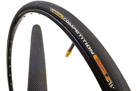 Continental Competition Black Chili Tubular Tire (650c)