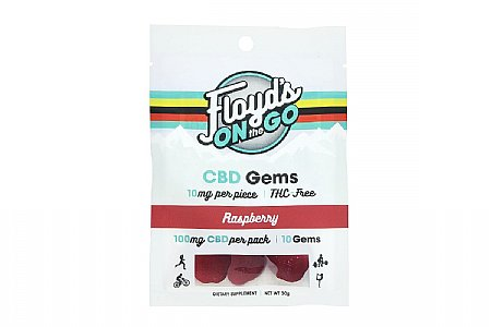 Floyds of Leadville CBD Gems 100mg Total (10 Servings)