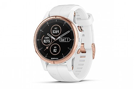 Garmin Fenix 5S Plus Sapphire Rose Gold GPS Watch