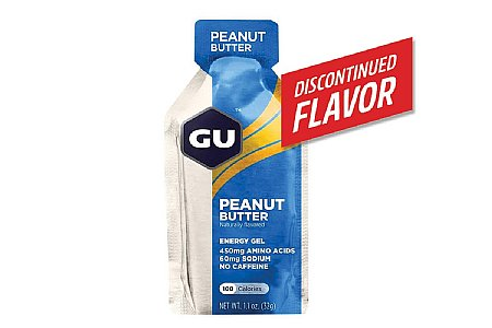 GU Peanut Butter Energy Gel (Box of 24)