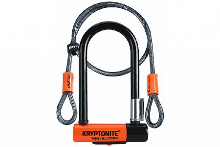 Kryptonite Evolution Mini-7 U-Lock with Flex Cable