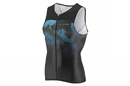 Louis Garneau Mens Tri Course Sleeveless Tri Top