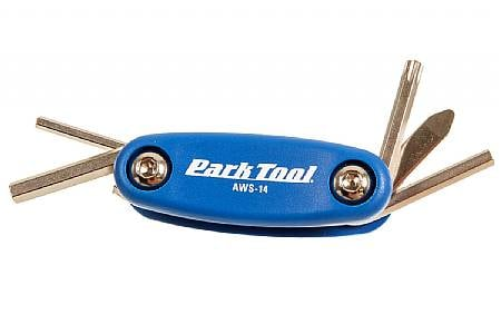 Park Tool AWS-14 Folding Hex Screwdriver  Set
