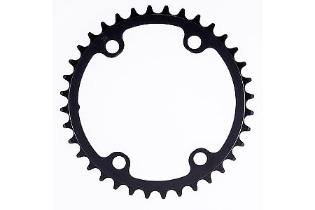 Rotor NoQ Round Chainrings - 110x4 Asymmetric BCD Inner