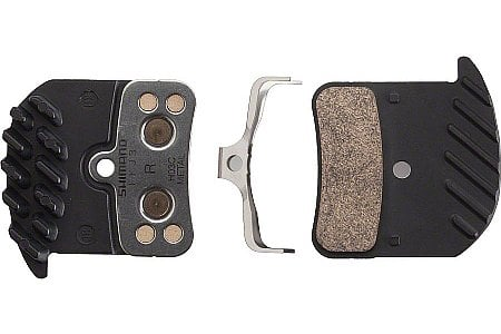 Shimano H03C Metal Disc Brake Pad with Fins