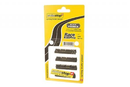 SwissStop RacePro Campy Brake Pads - Black Prince Carbon