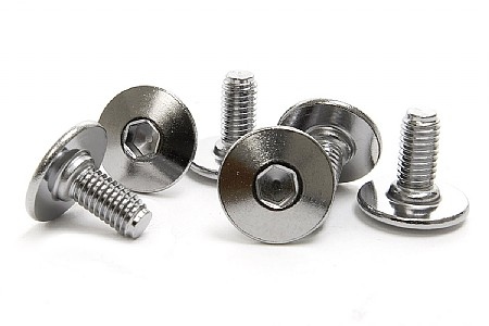 2PCS 5mm CLEAT BOLTS for bike pedal Shimano SPD MTB Look Crank Brothers Wellgo