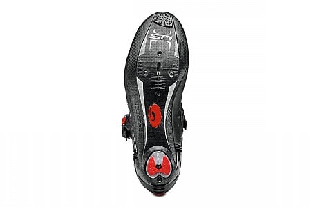 Sidi Genius Fit Carbon Mega Men/'s Road Cycling Shoes Black