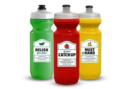 Leakproof when closed 22 ounces Flexible Bicycle Bottle Purist water bottle Spurcycle Must GO Hard Water Bottle