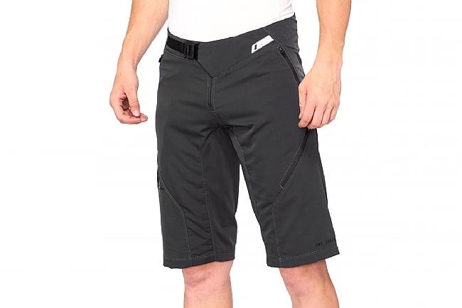 100% Mens Airmatic Short Charcoal