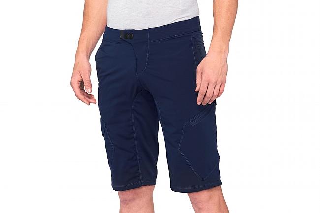 100% Mens Ridecamp Shorts Navy