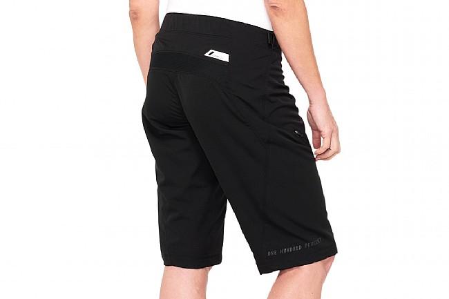 100% Womens Airmatic Short Black