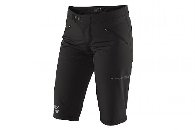 100% Womens Ridecamp Shorts Black