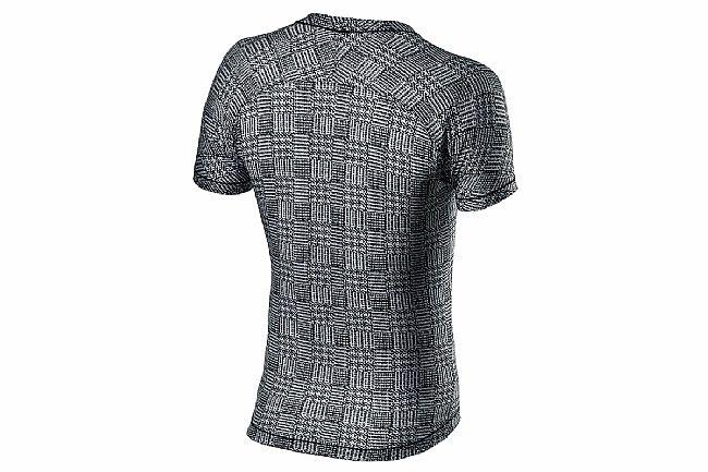 Castelli Mens Pro Mesh Short Sleeve Baselayer Black/White