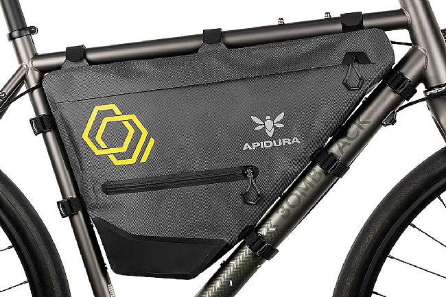 Apidura Expedition Full Frame Pack Grey/Black - Small, 7.5L
