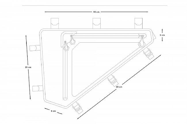 Apidura Backcountry Full Frame Pack 6L