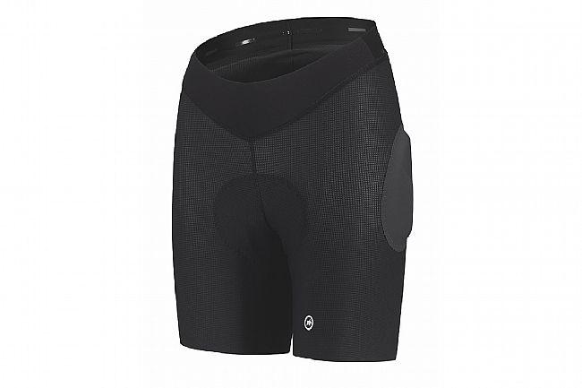 Assos Womens Trail Liner Shorts Black Series