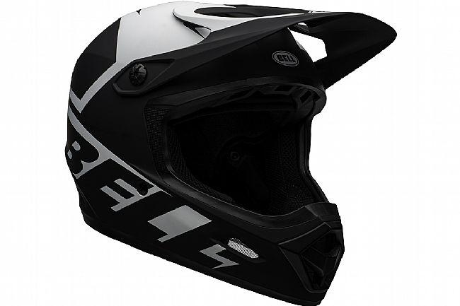 Bell Transfer Full Face MTB Helmet Slice Matte Black/White