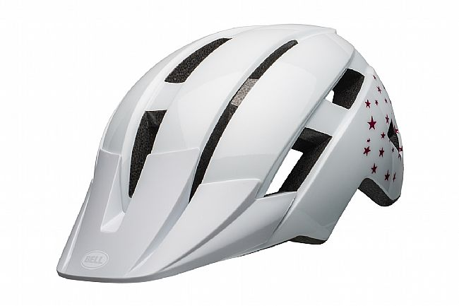 Bell Sidetrack II Youth MIPS Helmet White Stars
