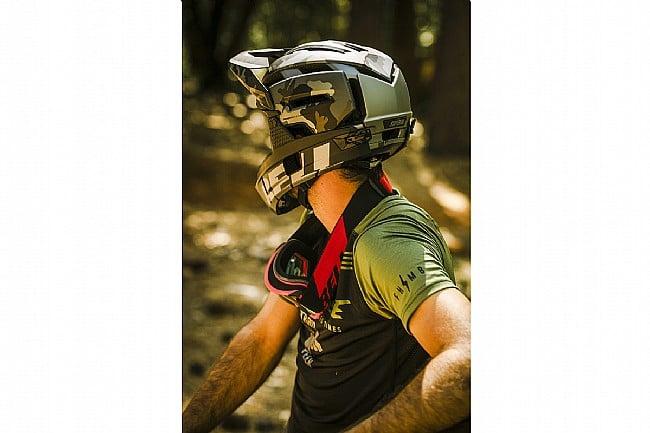 Bell Super Air R MTB Helmet Matte/Gloss Red/Gray