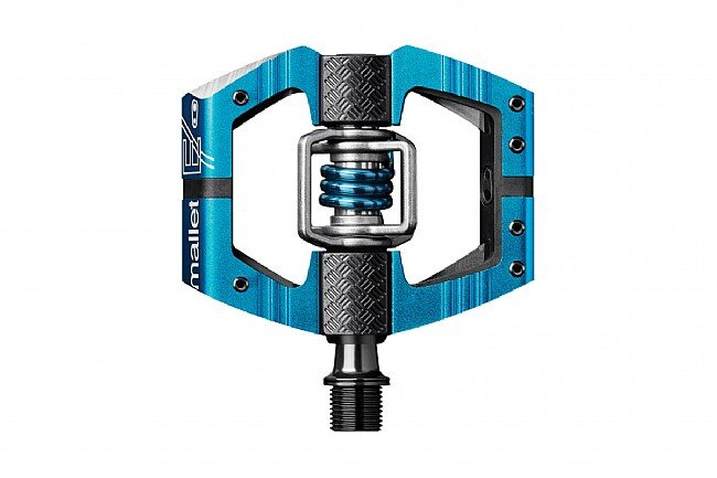 Crank Bros Mallet E Pedals Electric Blue/Electric Blue