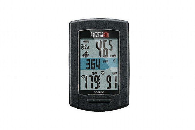 Cat Eye Stealth 50 Gps Ant Cycling Computer Cc Gl50 At Biketiresdirect