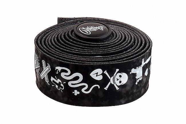 Cinelli Volee Designer Tape Black / White - Mike Giant