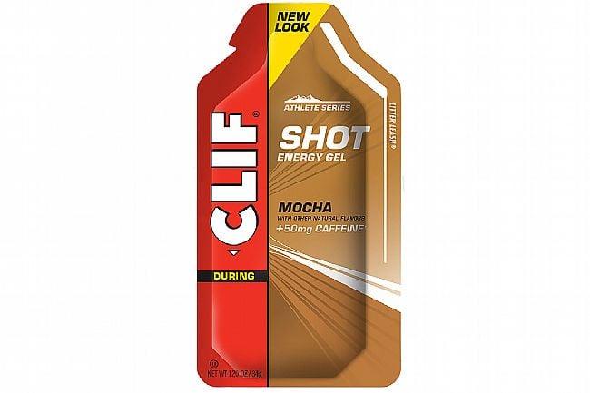 Clif Shot Energy Gels (Box of 24) Mocha w/50mg caffeine