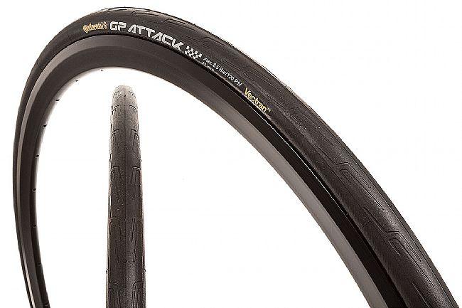 Continental Grand Prix Attack III Front Tire 700 x 23c - Black