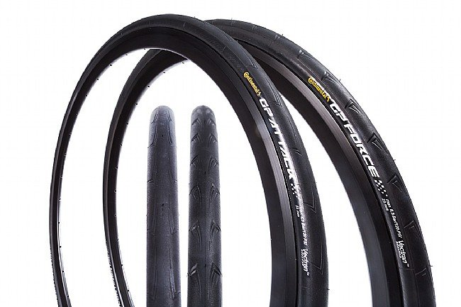 Continental Attack/Force III Clincher Tire Set Continental Attack/Force III Clincher Tire Set