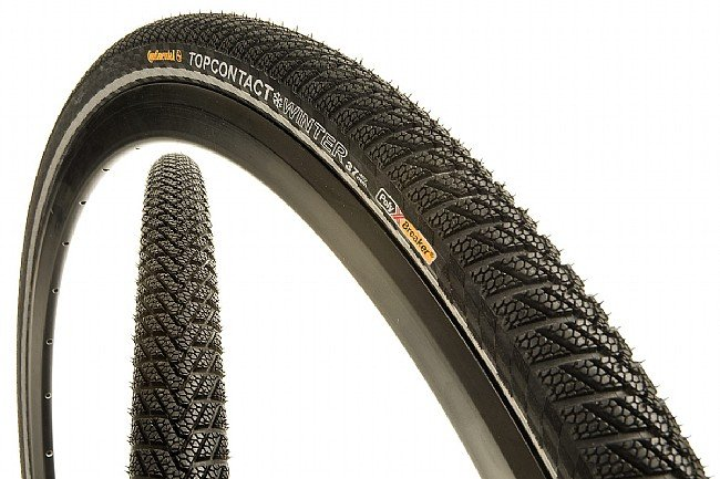 Continental Bike Tires >> Continental Top Contact Winter II 700c Tire at BikeTiresDirect