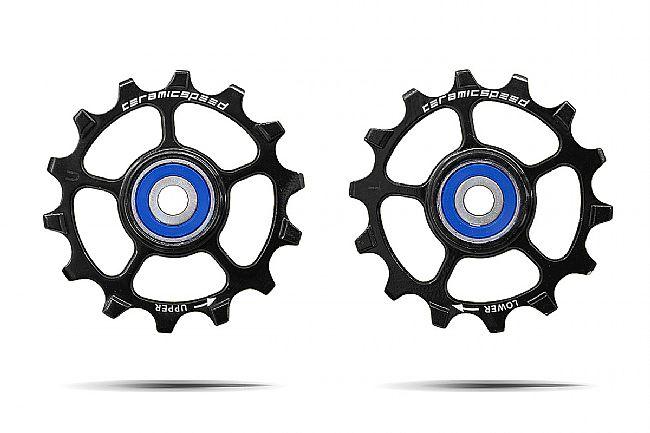 Ceramic Speed SRAM Eagle 1x12 Pulley wheels Pair 14T - Black
