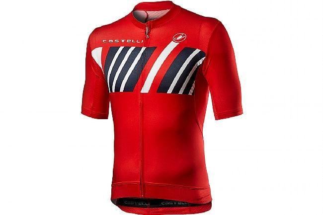 Castelli Mens Hors Categorie Jersey Red