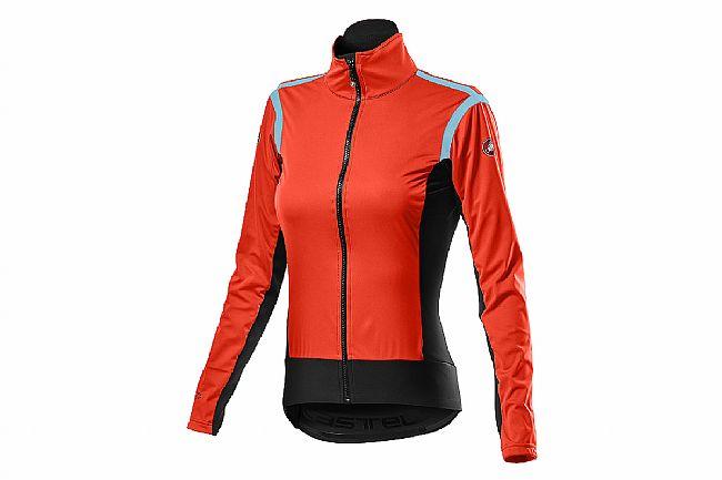 Castelli Womens Alpha RoS 2 Light Jacket Fiery Red