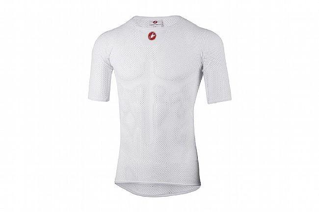 Castelli Mens Core Mesh 3 Short Sleeve White