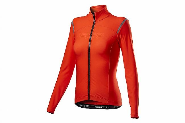 Castelli Womens Tutto Nano RoS Jersey  Fiery Red