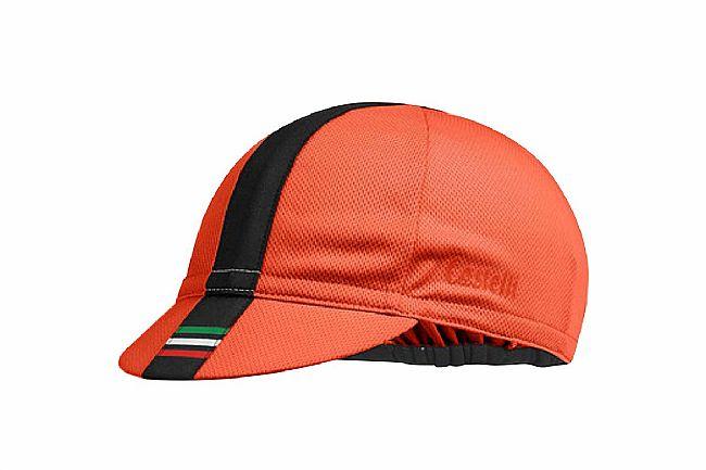 Castelli Performance 3 Cycling Cap Orange - One Size