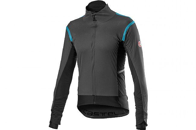 Castelli Mens Alpha RoS 2 Jacket Dark Gray